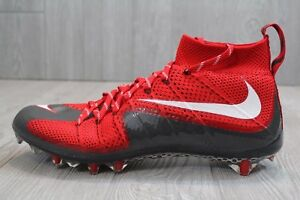 3897e15055f 22 New Nike Vapor Untouchable Pro Flyknit Football Cleats Red 707455 ...