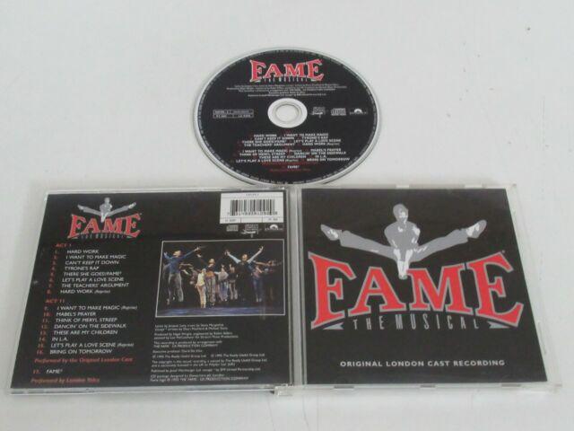 Fame-The Musical/Original London Cast Grabación (Polydor 529109-2) CD Álbum