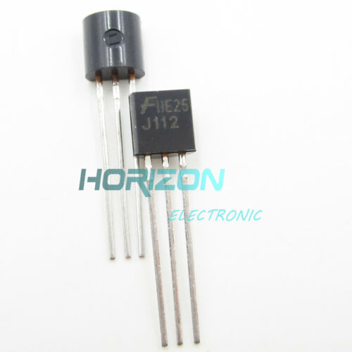 10PCS J112 FSC TO92 N–Channel JFET Transistor NEW TO-2 S8 BEST PRICE