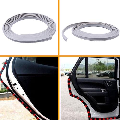 2M Grey Car Door Scratch Protector Edge Seal Trim Seal Guard Seal Rubber Strip