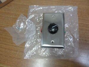 6x Atlas Soundolier Attenuator AT-10 Variable Pad Speaker Controller w/ Screws