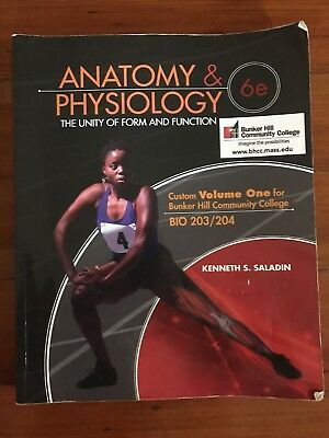 Anatomy & Physiology: The Unity of Form and Function, Saladin 6th Ed ...