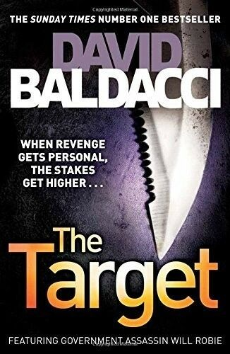 New, The Target, Baldacci, David, Book
