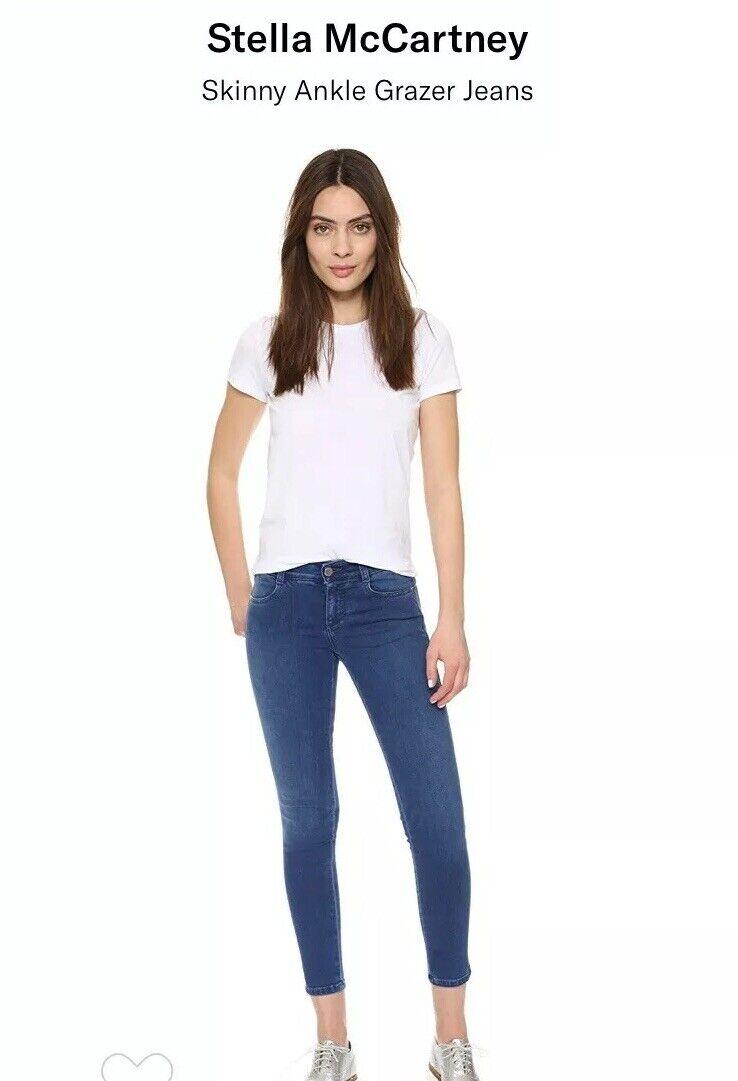 Stell Mcbiltney Skinny Ankle Grazer Jeans (NWT)