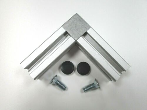 """2 Way Cubic Conector for 2020 Aluminium Extrusion//Profile for /""""B/"""" Type Slot 6"""