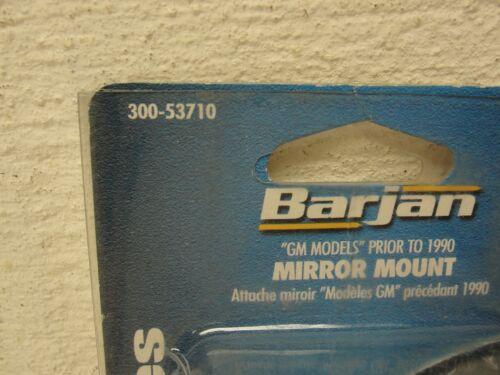 2 NEW CB RADIO ANTENNA GM MODELS PRIOR TO 1990 LEFT//RIGHT MIRROR MOUNT 53710