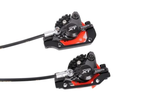 Shimano XT M8000 MTB Disc Brake Set Front/&Rear Resin Pad W//Ice-Tech Cooling Fin