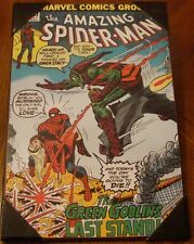 The Amazing SpiderMan #122 Marvel Comics Wall Art 13'' x 19'' Green Goblins last