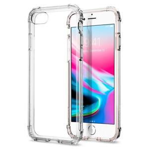finest selection 7e821 3de0d Details about Spigen® [Crystal Shell] Shockproof Case Cover for Apple  iPhone 8 / 8 Plus