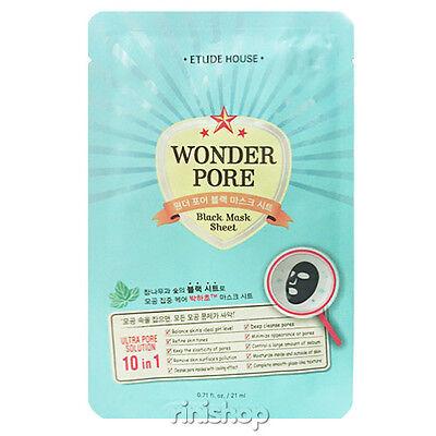 [ETUDE HOUSE] Wonder Pore Black Mask Sheet 21ml rinishop