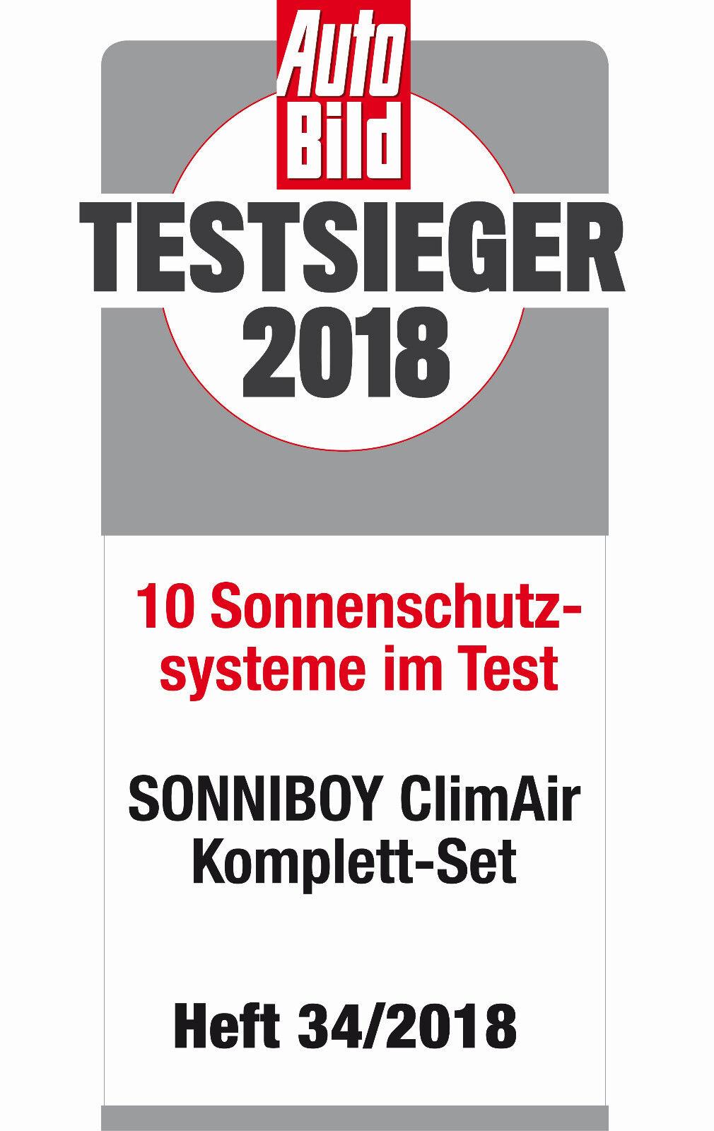 ClimAir Sonniboy Sonnenschutz SMART FORFOUR TYP W453 5-DOOR Scheibennetze 2014