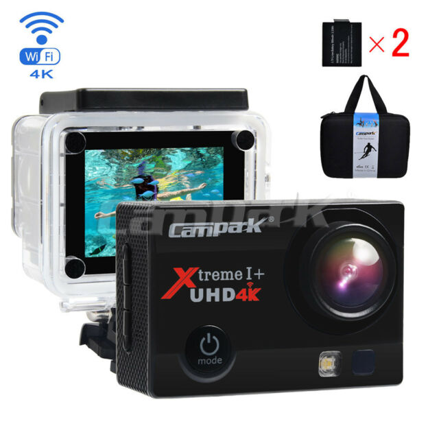 Campark ACT74 Action Cam HD 4K WiFi Sports Camera Waterproof w/ SONY Sensor AU