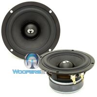 Cdt Audio Hd-4 Car 4 50w Rms 4 Ohm Mid Woofers Speakers Pair