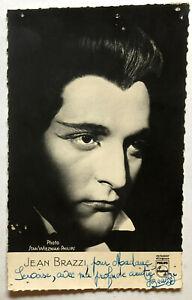 Jean-Brazzi-Oper-Theater-original-Autogramm-Groesse-14-x-9-cm