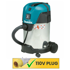 Makita VC3011L/1 Vacuum Cleaner Wet and Dry Dust Extractor 28L 110V