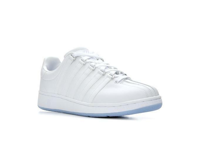 K-SWISS 03343-112 CLASSIC VN Mn's (M) White Placid bluee Leather Lifestyle shoes