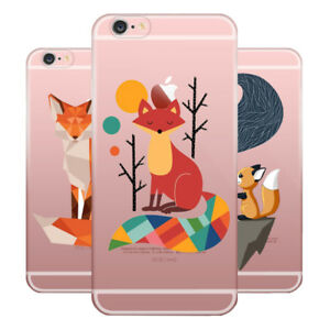 Fox-Soft-Silicone-Phone-Case-Fox-animal-case-For-Apple-iphone-samsung-and-Huawei