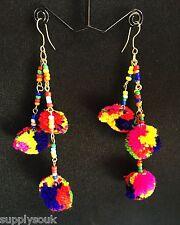 Pom Pom Beautiful Stylish Designer Fashion Latest Pom Pom Earrings for Women