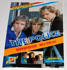 THE-POLICE-Band-Sting-1980-Hitkrant-Hitspecial-Superposter-Poster-Magazine