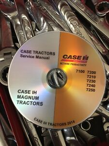 best case ih 7210 7220 7230 7240 7250 magnum tractor service repair rh ebay com Case IH 7240 Case IH 7240