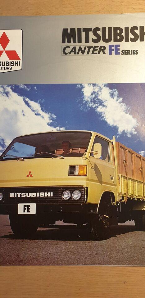 Brochure, Mitsubishi Canter