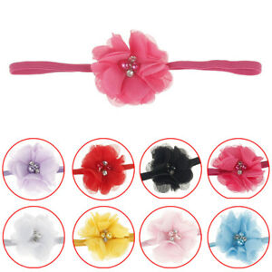 Infant-Baby-Kids-Girls-Flower-Pearl-Headband-Hair-Band-Accessories-Headwear