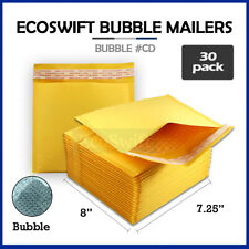 30 Cd 725 X 8 Kraft Bubble Mailers Cd Rom Envelopes