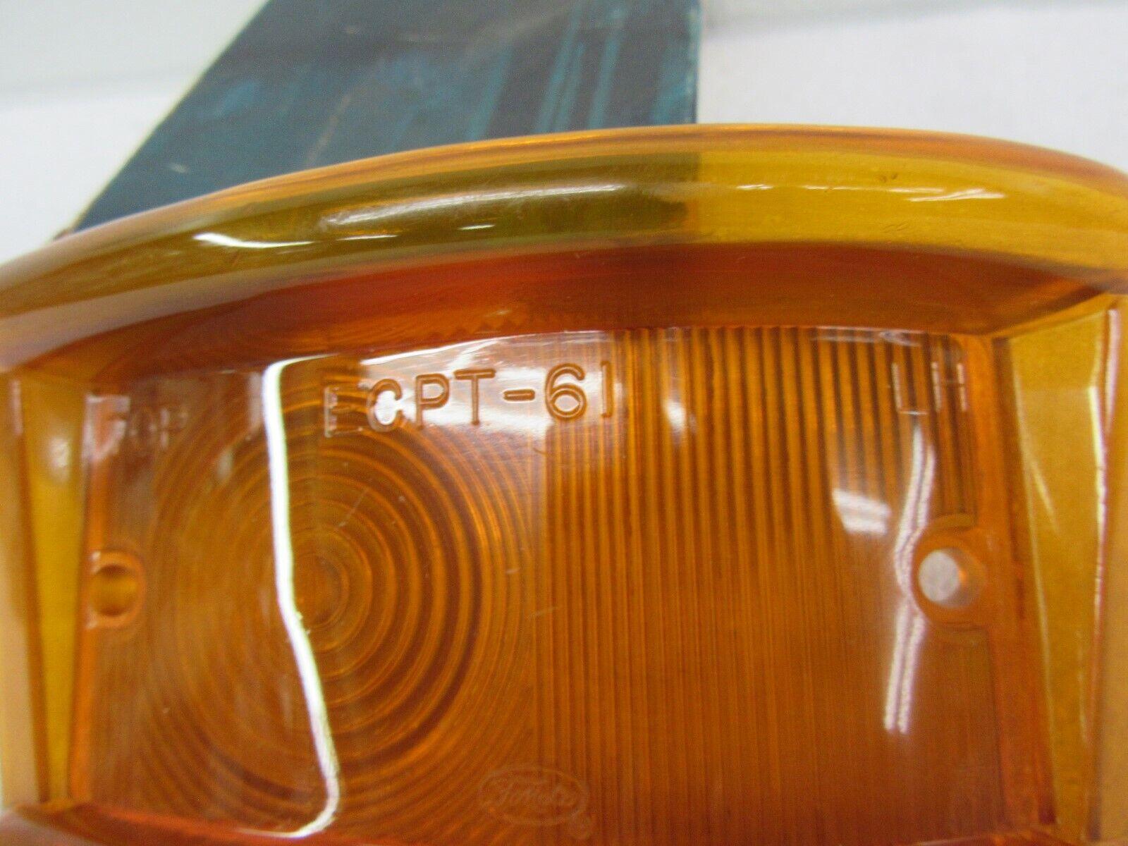 1963-67 FORD ECONOLINE PARKING LIGHT LENS LH                        C3UZ-13209-A