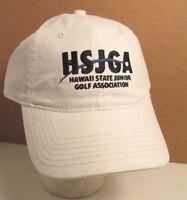 Hsjga Hawaii State Junior Golf Assoc Usa Embroidered Hat Ball Cap Unisex