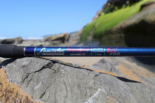 Lamiglas Super Surf 2G Pro Series 2 piece Rods, 10' and 11'