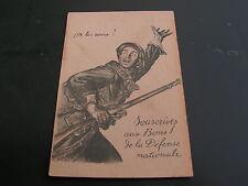 carte postale   patriotique   1914   1918      ww1     n   227
