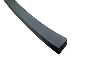 """1"""" x 1"""" Neoprene Foam Rubber with Adhesive Back      NFR100-1-AB"""