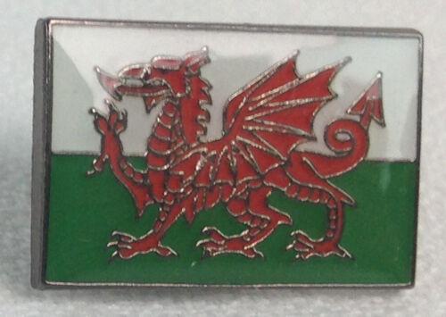 United Kingdom UK Imported Enamel Pin England Welsh Wales Flag