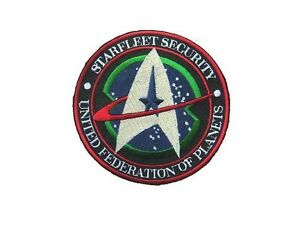 Star-Trek-Ecusson-brode-Starfleet-Security-United-federation-of-planets-patch