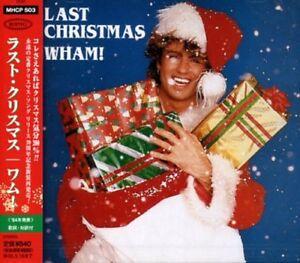 WHAM ! GEORGE MICHAEL LAST CHRISTMAS JAPAN 2 TRACKS CD   eBay