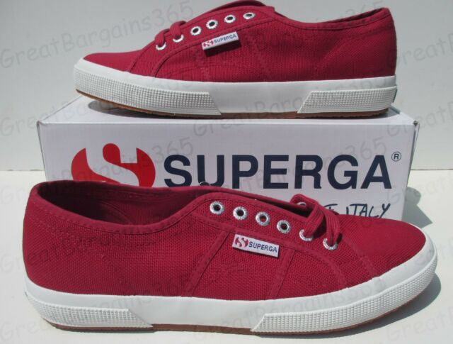 bf8e0a5084f5b Mens Superga 2750 Classic Shoes in Red From Get The Label UK 9.5 ...