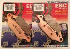 Suzuki SV650/S (2003 a 2013) EBC Sinterizado Pastillas De Freno Delantero (FA229HH/FA231HH)