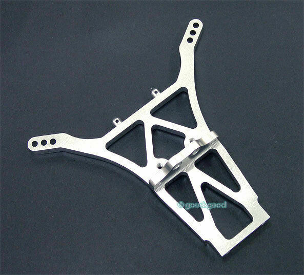 Rear Shock Tower Damper Fits Associated RC10 GT2 Silver