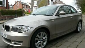 Bmw 1 series coupe 120d se. VERY LOW MILES