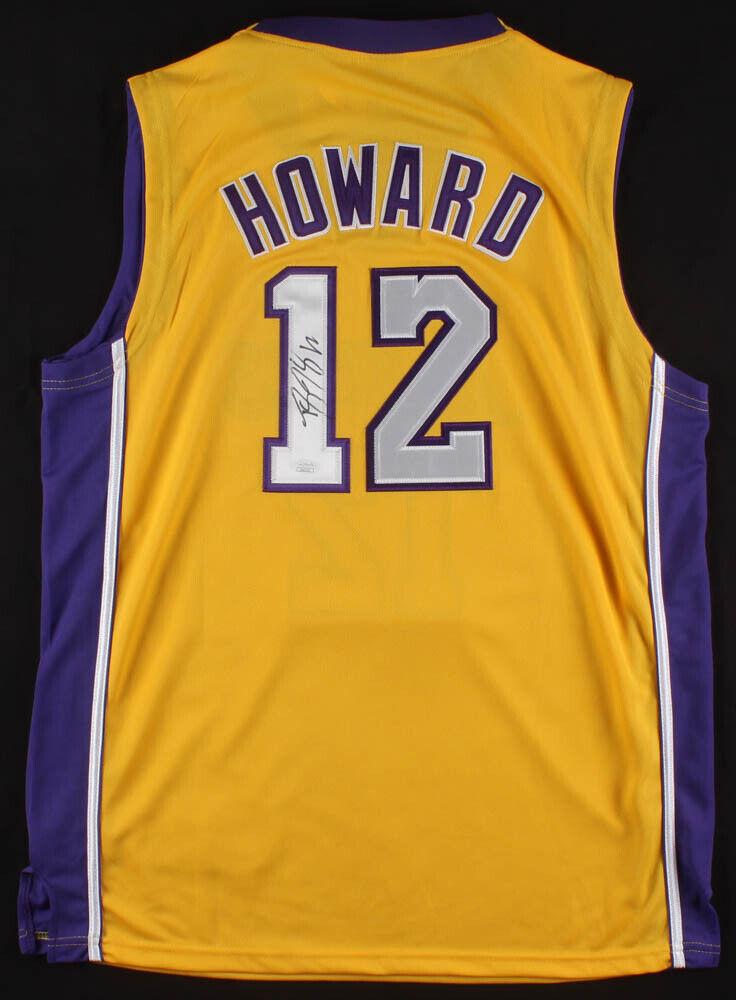 Dwight Howard Firmado los Ángeles Lakers Adidas NBA Camiseta ( JSA ) 8x All Star