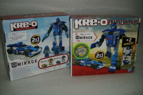 119 pieces In Stock New Transformers Kre-o Create it Mirage 2 IN 1 kit