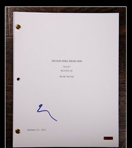 GFA-The-MINDY-Project-MINDY-KALING-Signed-Full-TV-Script-AD3-COA