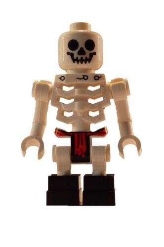 Lego weißes Skelett standart klassisch white skeleton Minifigur weiss Ninjago