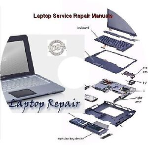 laptop repair service manuals gb dvd ebay