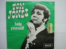 TOM JONES 45 TOURS BELGIQUE HELP YOURSELF