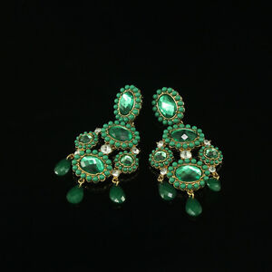 earrings-Nails-Big-Candlestick-Capri-Iconic-Green-Vintage-Baroque-XX-6