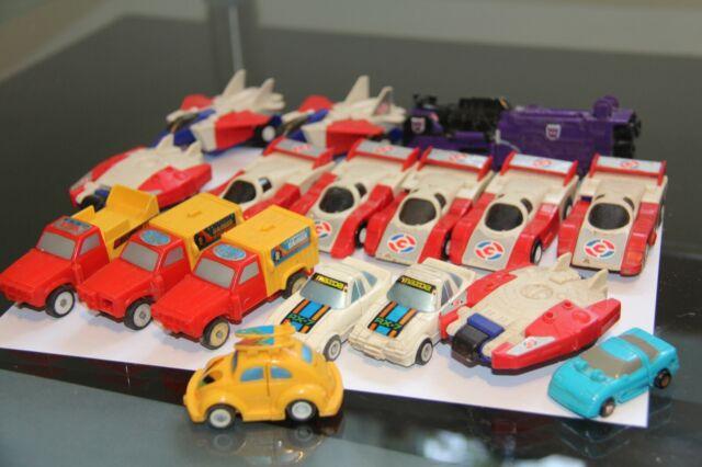 lot vintage toys transformer