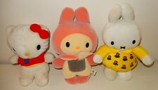 Lot de 3 peluches plush Hello Kitty Vintage SANRIO 1976 Matchbox