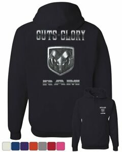 Dodge Ram Hoodie >> Guts And Glory Dodge Ram Hoodie Ram Pick Up Truck Sweatshirt Ebay