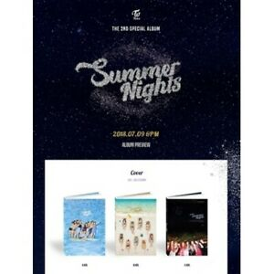 Twice[Summer Nights]2nd Special 3SET CD+LyricsPoster/On+Book+etc+Gift+Trackin